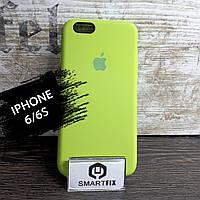 Силиконовый чехол для iPhone 6/6S Soft Салатовый, фото 1
