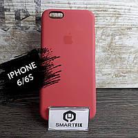 Силиконовый чехол для iPhone 6/6S Soft Розовый