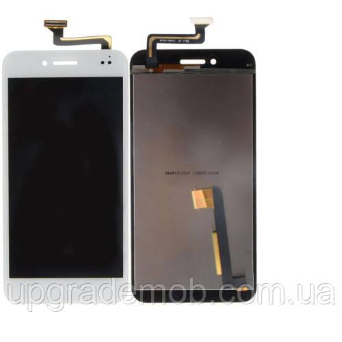 Дисплей Asus PF500KL PadFone S с тачскрином модуль сенсор, белый