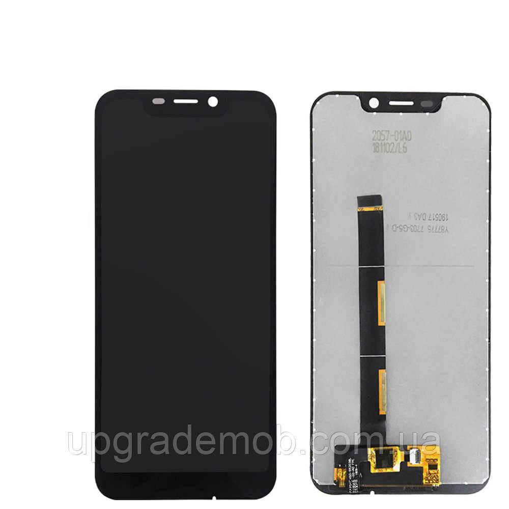 Дисплей Blackview A30 тачскрин сенсор черный