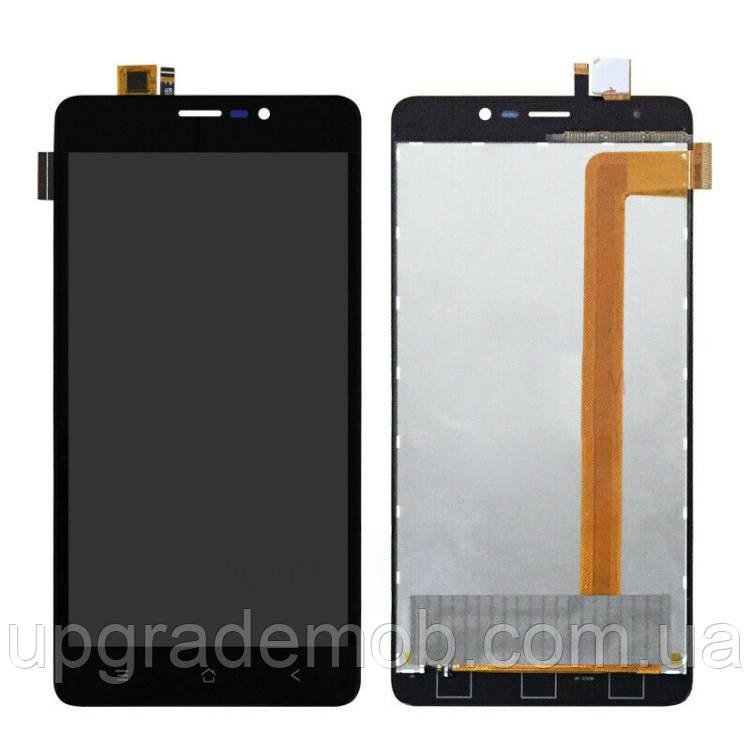 Дисплей Blackview A8 Max тачскрин сенсор черный