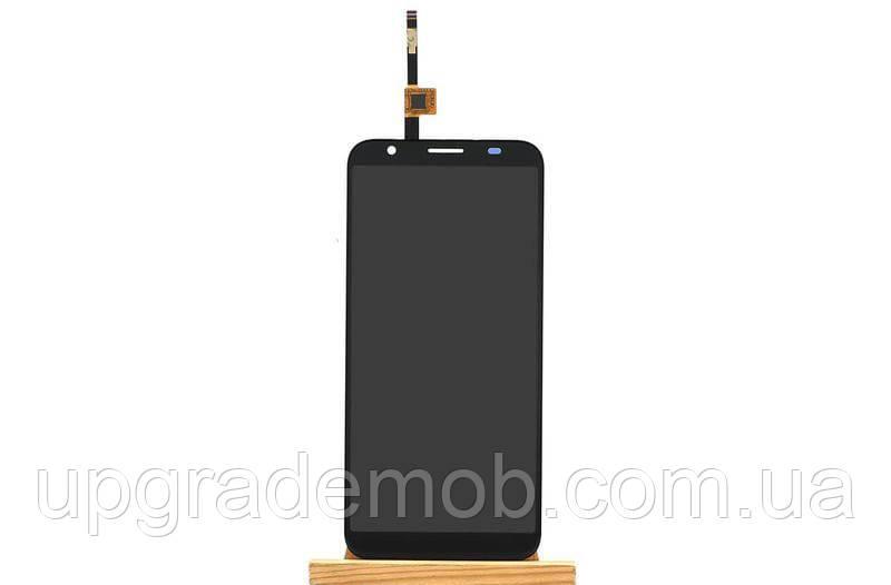 Дисплей Doogee X55 тачскрин сенсор черный