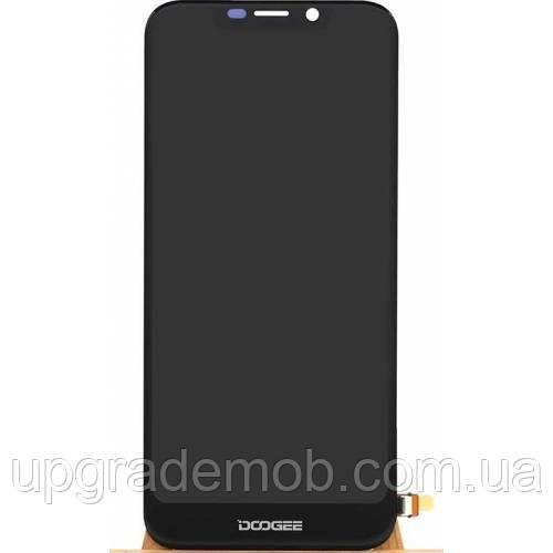 Дисплей Doogee X70 тачскрин сенсор, черный