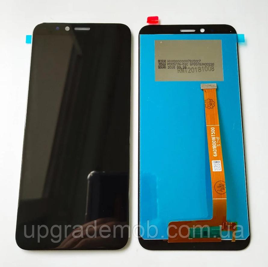 Дисплей Lenovo K5 Play тачскрин сенсор, черный