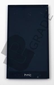Дисплей HTC 601 Desire/601 Desire Dual Sim/315n тачскрин сенсор модуль, черный, в рамке