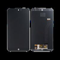 Дисплей Meizu 15 Lite/M15 тачскрин модуль черный