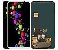 Дисплей Meizu 16 Plus тачскрин модуль черный Amoled оригинал