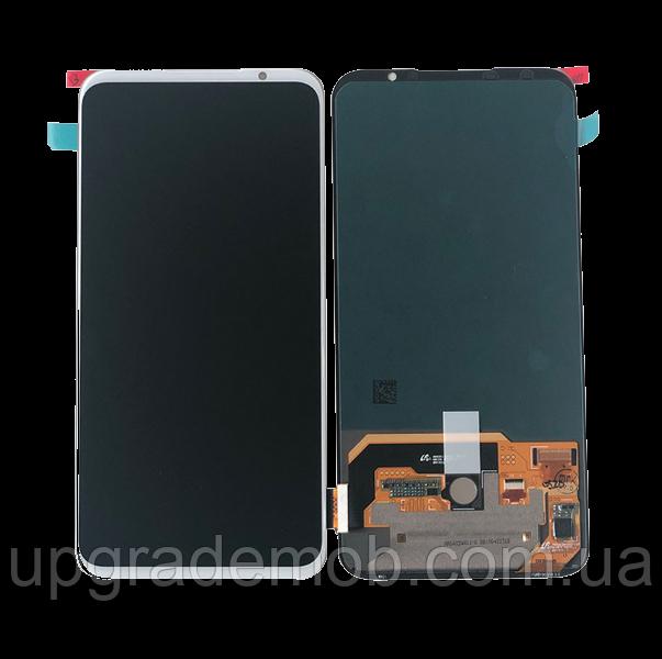 Дисплей Meizu 16s/16s Pro с тачскрином модуль сенсор, белый, Amoled, оригинал