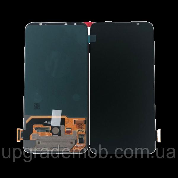 Дисплей Meizu 16s/16s Pro с тачскрином модуль сенсор, черный, Amoled, оригинал