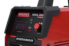Сварочный аппарат инверторный Worcraft MMA-200DP, фото 3
