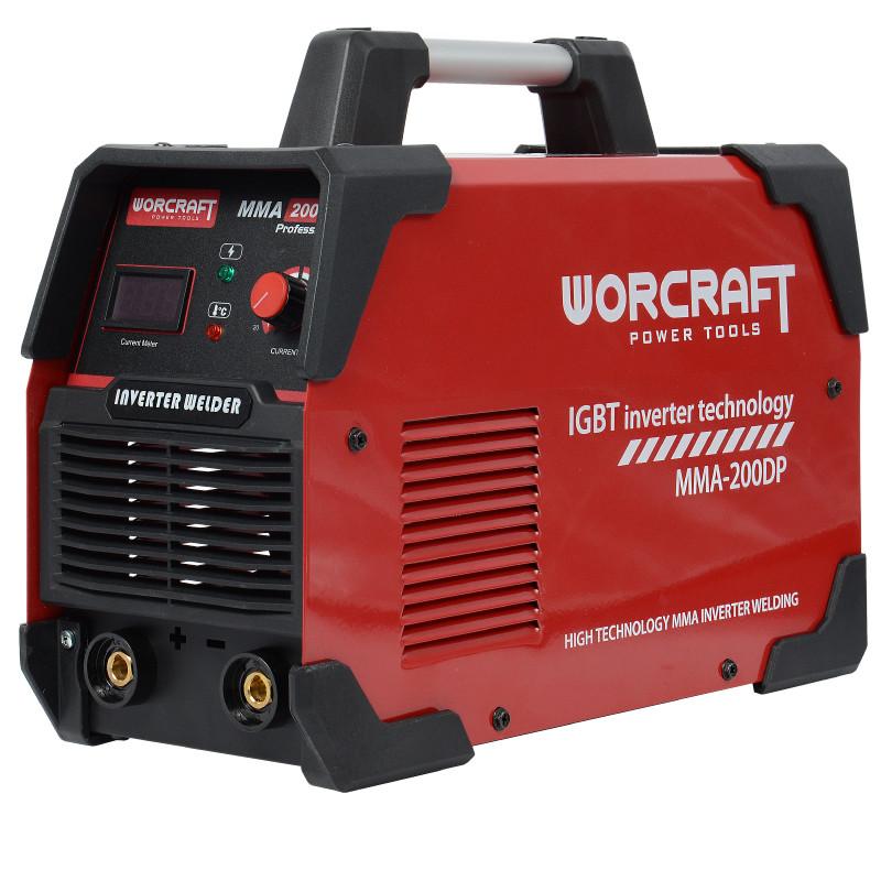 Сварочный аппарат инверторный Worcraft MMA-200DP