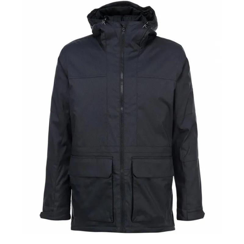 Куртка-парка спортивная adidas HT Trail Parka 2 F95304 (темно-серый, мужская, зима, -20, синтепон, адидас)