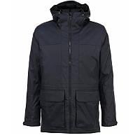 Куртка-парка спортивная adidas HT Trail Parka 2 F95304 (темно-серый, мужская, зима, -20, синтепон, адидас), фото 1