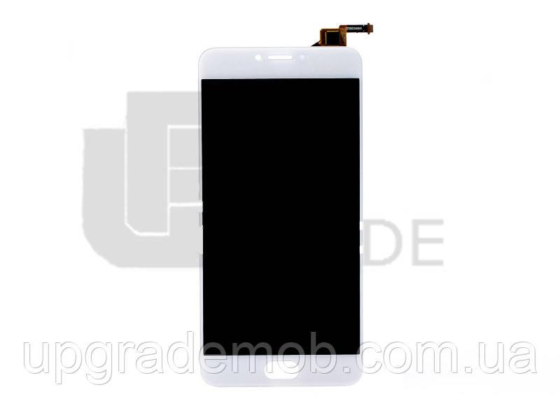 Дисплей Meizu M3 Note L681H тачскрин сенсор модуль, белый