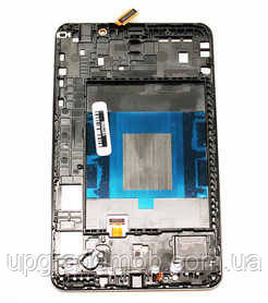 Дисплей Samsung T230 Galaxy Tab 4 7.0/T235 версия Wi-Fi тачскрин сенсор черный в рамке