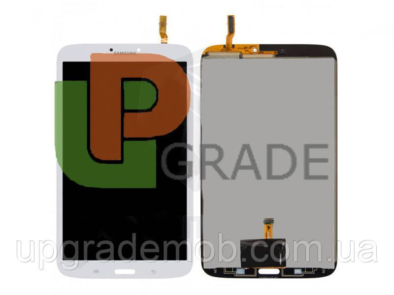 Дисплей Samsung T311 Galaxy Tab 3 8.0/T315, версия 3G/LTE с тачскрином модуль сенсор, белый, оригинал