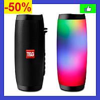 Портативная Bluetooth колонка Блютуз колонка JBL TG-157 Влагозащищенная с разноцветной подсветкой