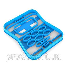 Вирубка для пряників Косметика 10*8,4 см (3D)