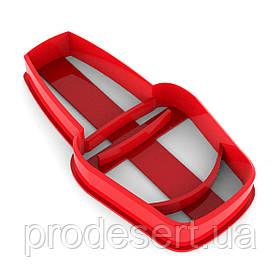 Вырубка для пряников Лак для ногтей 8*4 см (3D)