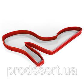 Вырубка для пряников Туфелька 11*7 см (3D)