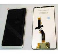 Дисплей Meizu Note 8 M822/M8 Note тачскрин сенсор, белый, оригинал