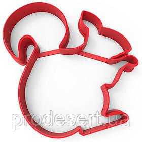 Вирубка для пряників Білочка 10*8,5 см (3D)