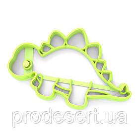 Вирубка для пряників Динозавр-1 5,5*9 см (3D)