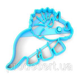 Вирубка для пряників Динозавр-5 5,5*8 см (3D)