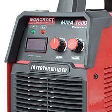 Зварювальний апарат інверторний Worcraft MMA-160DP, фото 3
