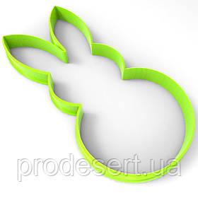 Вирубка для пряників Зайчик 12*6 см (3D)