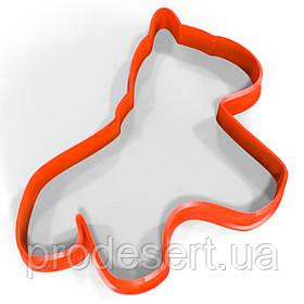 Вирубка для пряників Конячка 12*10 см (3D)