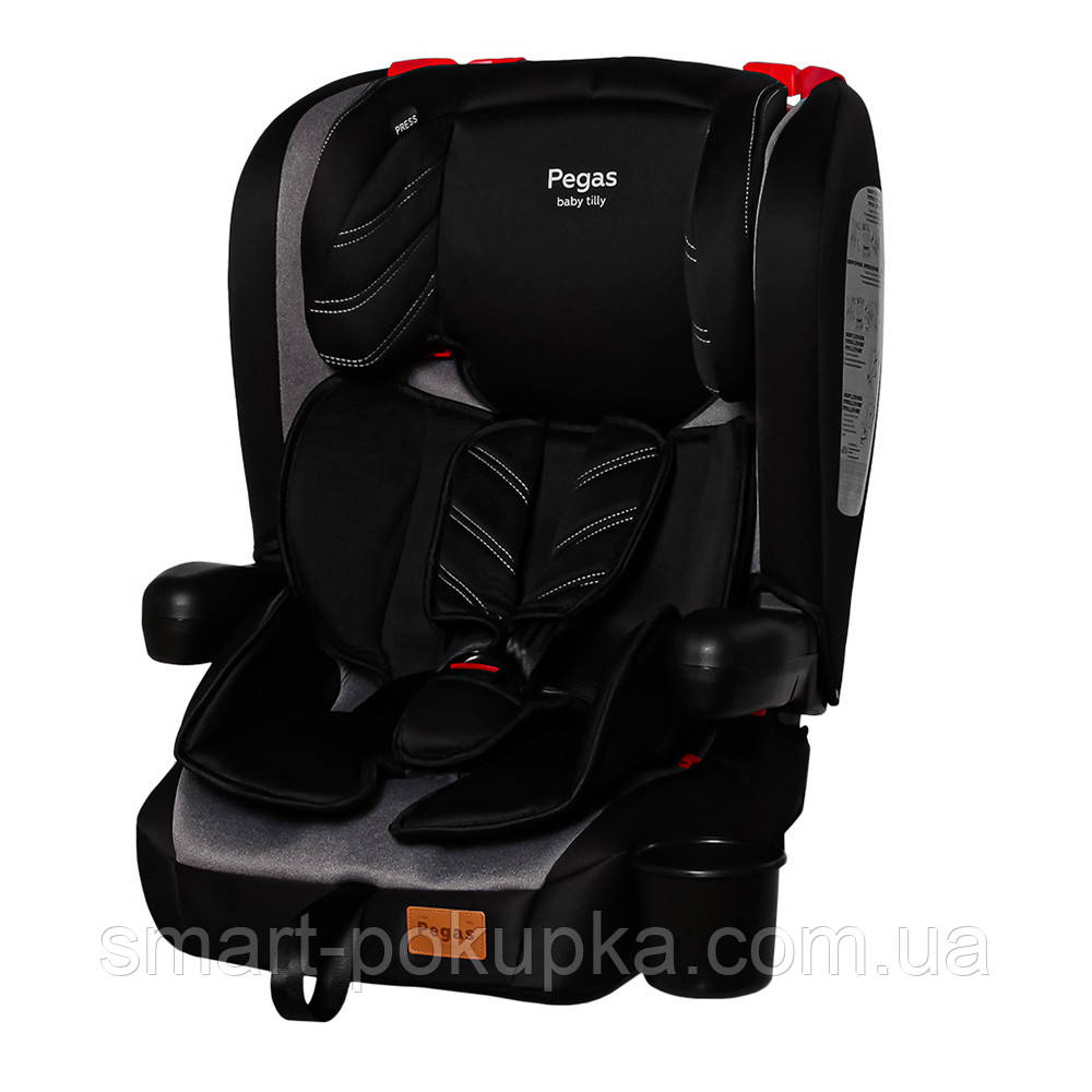 Автокрісло TILLY Pegas T-534 Grey група 1/2/3 ISOFIX /1/