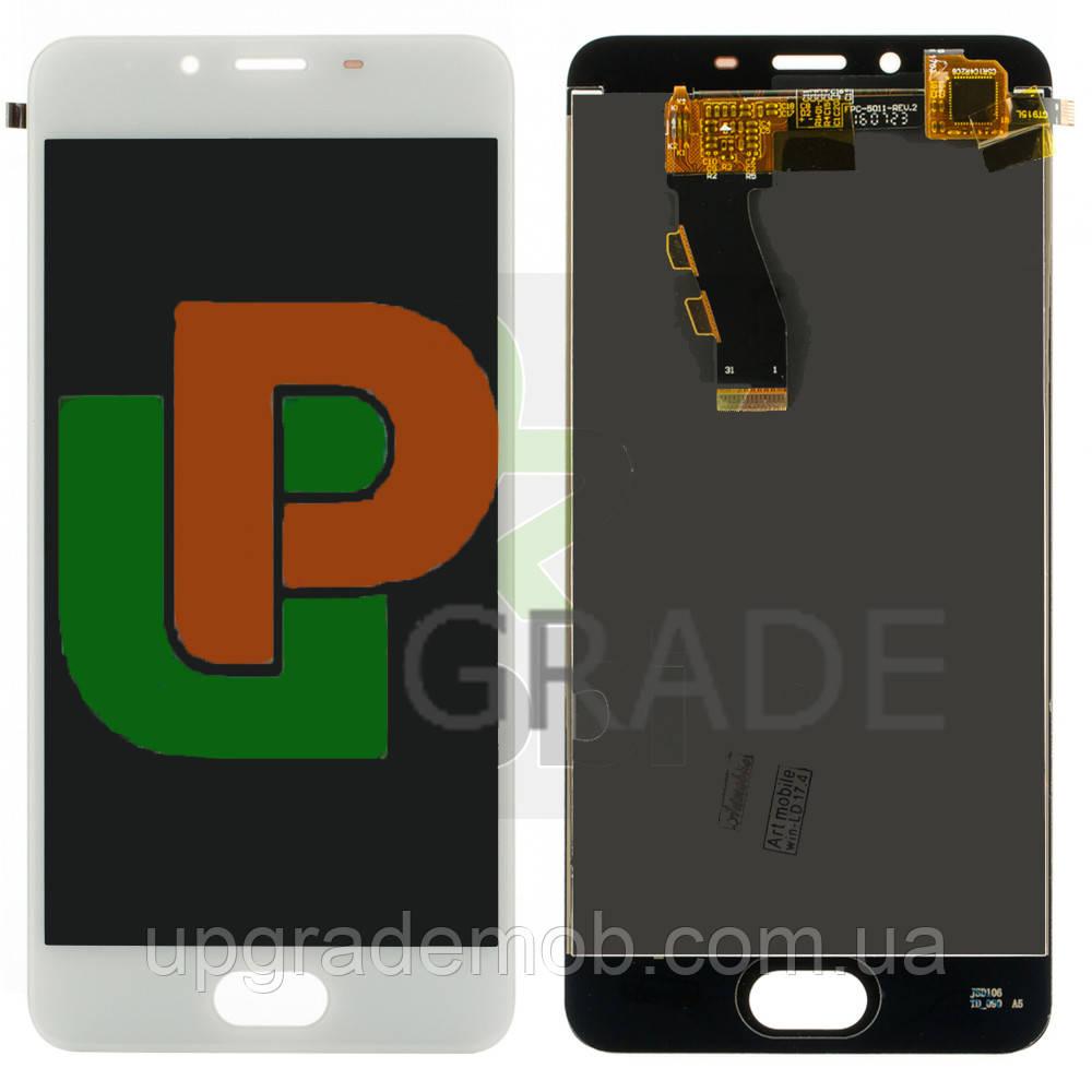 Дисплей Meizu U10 U680H тачскрин сенсор, белый