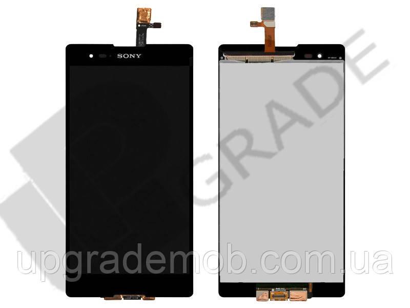 Дисплей Sony D5303 Xperia T2 Ultra/D5306/D5322 тачскрин сенсор модуль, черный