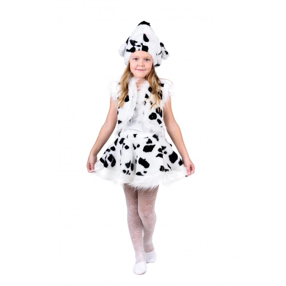 Маскарадный костюм Далматинца для девочки