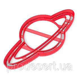 Вырубка для пряников Планета 8*14 см (3D)