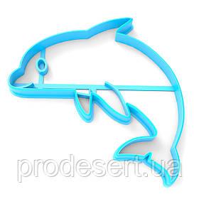 Вирубка для пряників Дельфін 10*10 см (3D)