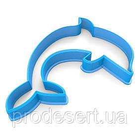 Вирубка для пряників Дельфінчик 9*6 см (3D)