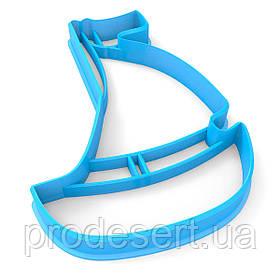 Вирубка для пряників Кораблик 10*7 см (3D)
