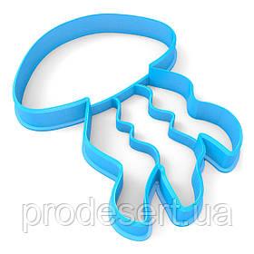 Вирубка для пряників Медуза 10*7,5 см (3D)