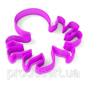 Вирубка для пряників Восьминіжок 9*9 см (3D)