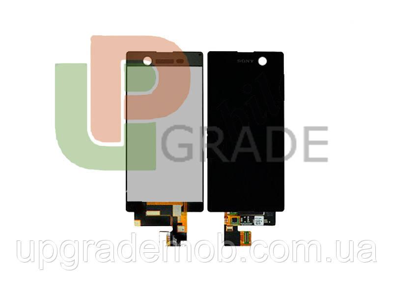 Дисплей Sony E5603 Xperia M5/E5606/E5633/E5643/E5653/E5663 тачскрин сенсор черный оригинал