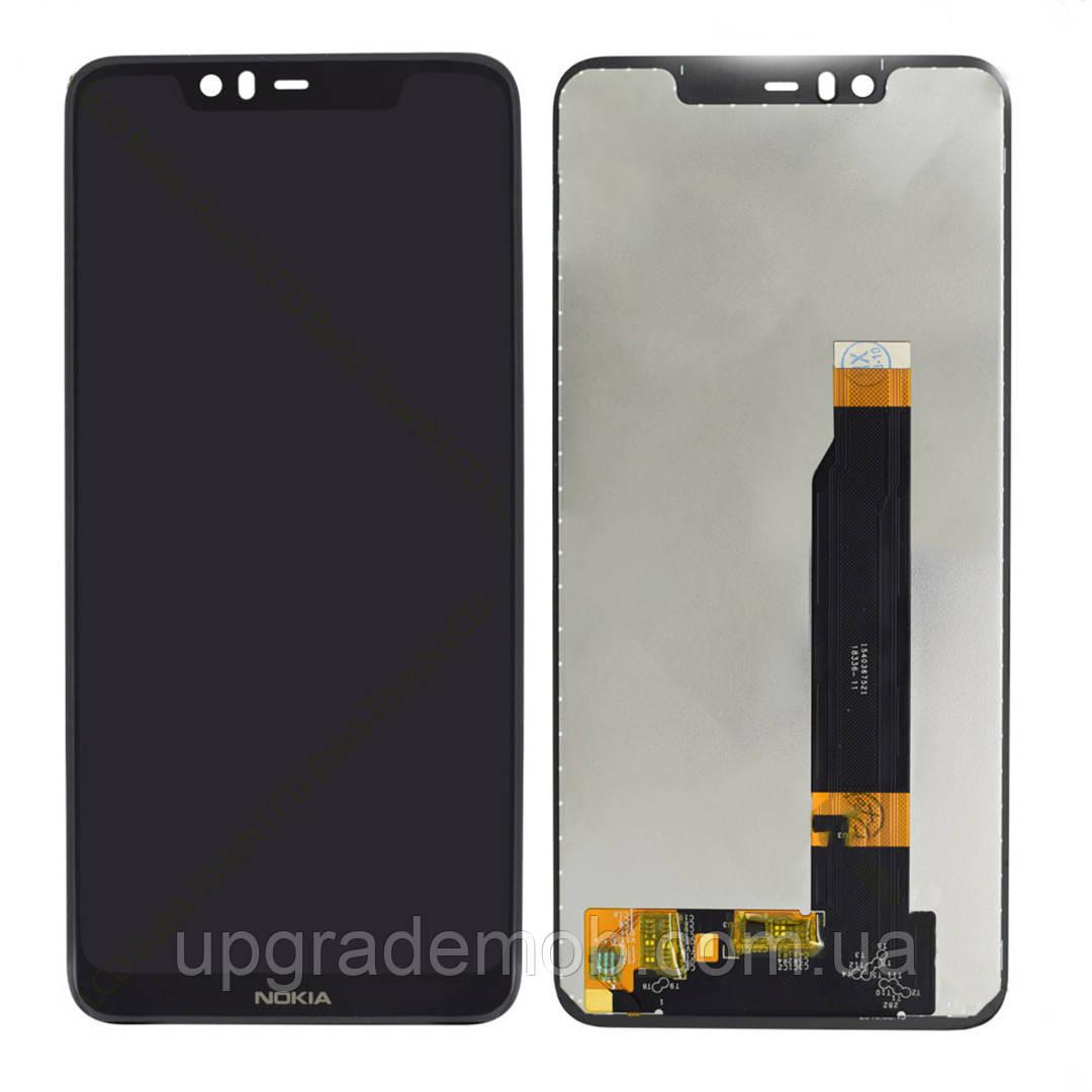 Дисплей Nokia 5.1 Plus/X5 2018 с тачскрином модуль сенсор, черный