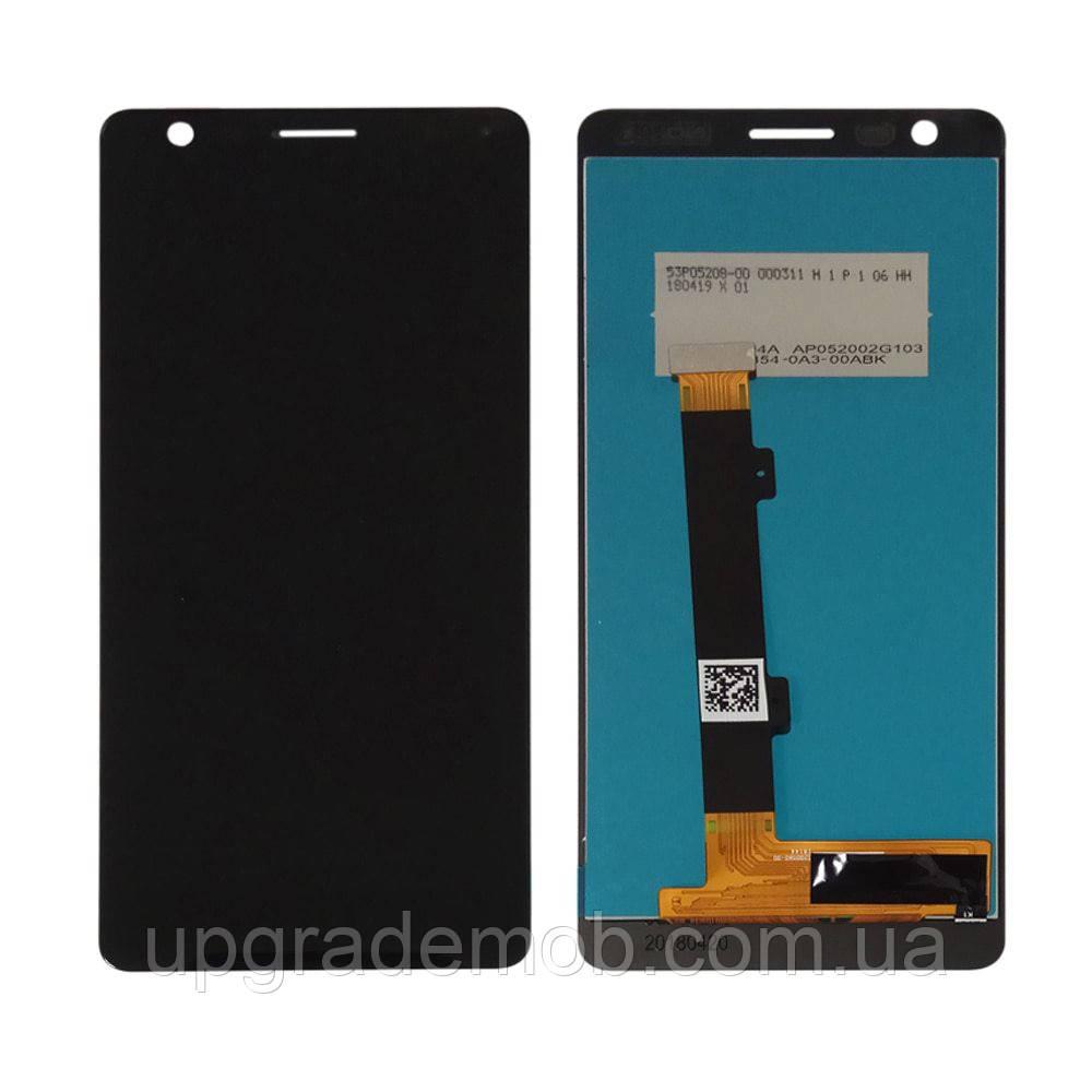 Дисплей Nokia 5.1 тачскрин сенсор черный