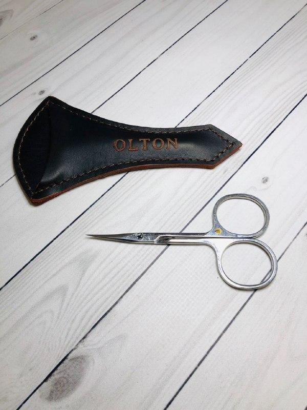 Ножницы Olton для кутикулы 100 мм