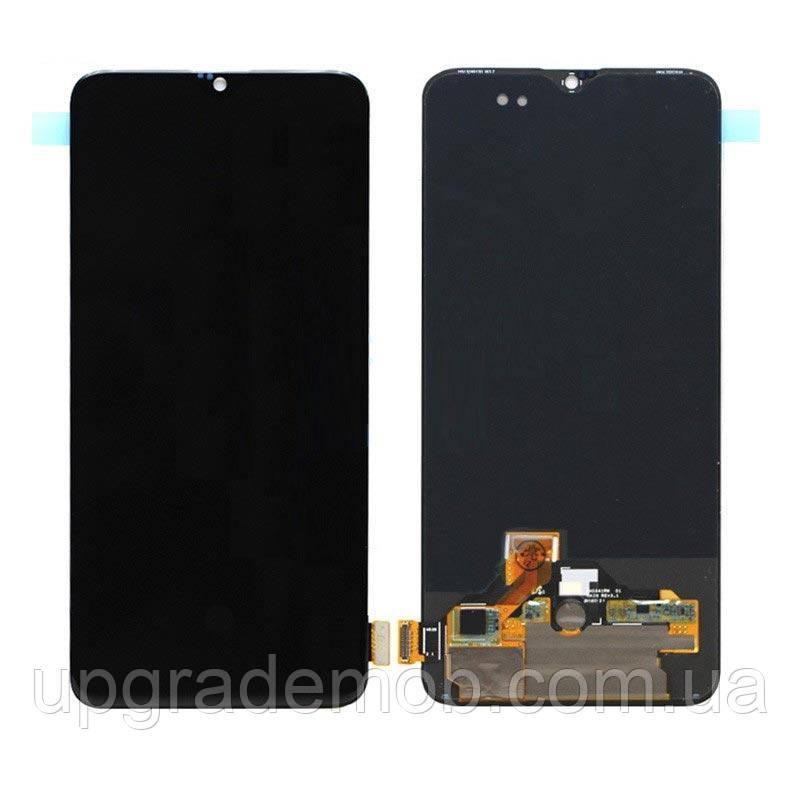 Дисплей OnePlus 6T A6013 тачскрин сенсор черный OLED копия хорошего качества