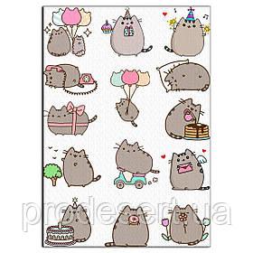 Котики 1 вафельна картинка