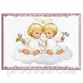 Хрестини 1 вафельна картинка