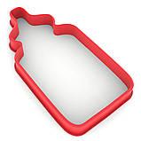 Вирубка для пряників Пляшечка 10*4,9 см (3D), фото 2