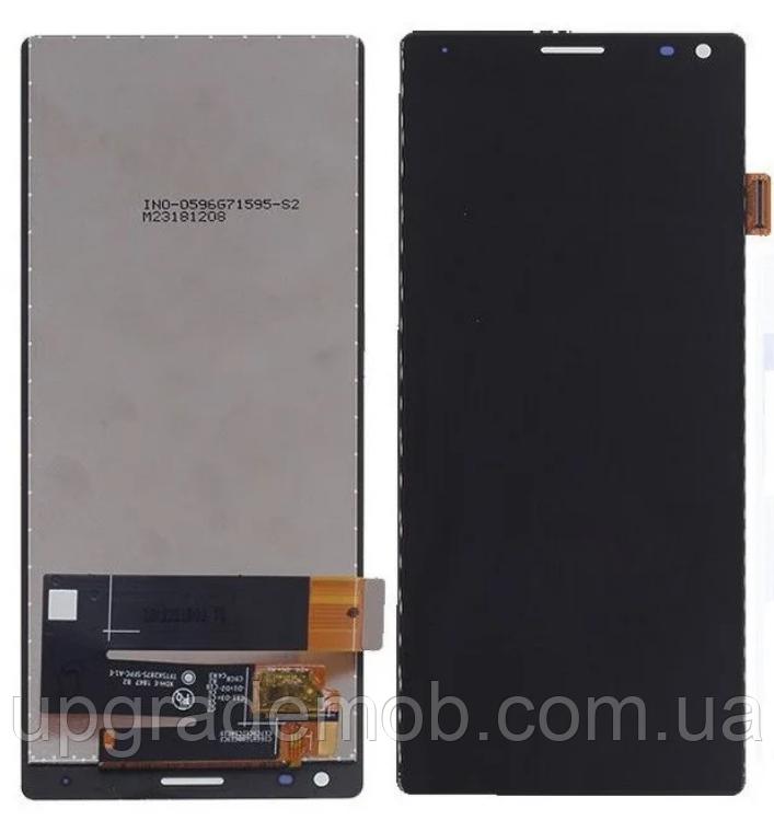 Дисплей Sony i3113 Xperia 10/i3123/i4113/i4193/XA3 тачскрин модуль черный оригинал